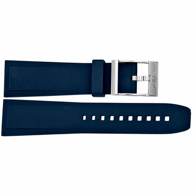 Breitling 24mm Blue Rubber Strap 139S