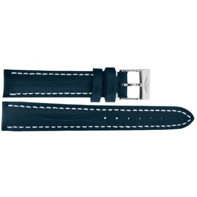 Breitling 16mm Inlet Blue Sahara Calfskin Leather OEM Watch Strap 210X