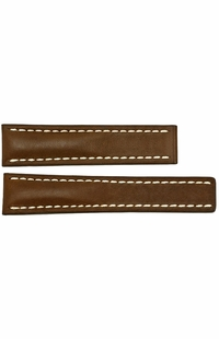 Breitling Brown Leather Strap 18/16 BRNL