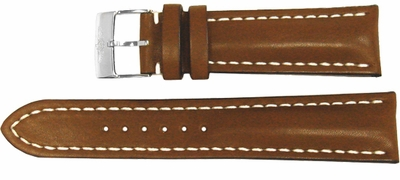 Breitling Brown Leather Strap 18/16 416X