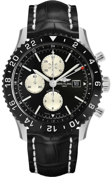 Breitling Chronoliner Black & Silver Dial Men's Watch Y2431012/BE10-760P