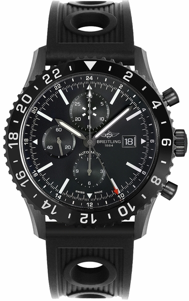Breitling Chronoliner Blacksteel Men's Watch M2431013/BF02-201S