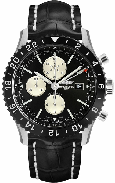 Breitling Chronoliner Black & Silver Dial Men's Watch Y2431012/BE10-761P