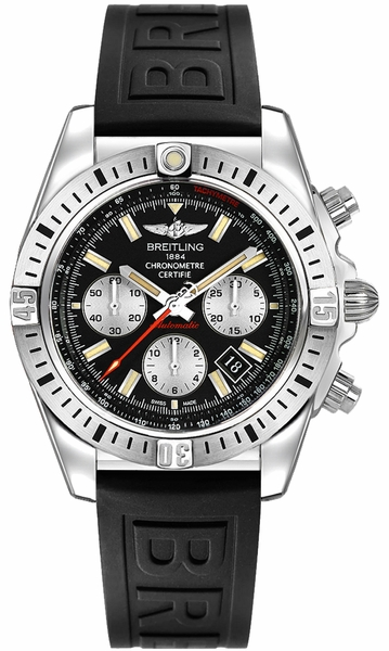 Breitling Chronomat 41 Airborne Black Dial Men's Watch AB01442J/BD26-151S