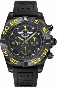 Breitling Chronomat 44 Blacksteel Jet Team America Limited Edition MB01109P/BD48-153S