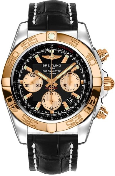 Breitling Chronomat 44 Chronograph Men's Watch CB0110121B1P1