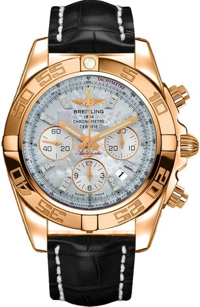 Breitling Chronomat 44 Rose Gold Men's Watch HB011012/A698-743P