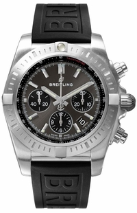 Breitling Chronomat Blackeye Grey Dial Men's Watch AB011510/F581-153S