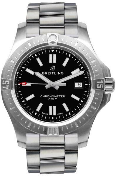 Breitling Chronomat Colt Automatic 44 Swiss Men's Watch A17388101B1A1