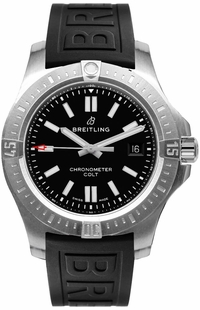 Breitling Chronomat Colt Black Dial Men's Watch A17388101B1S1