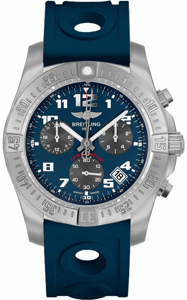 Breitling Chronospace Evo B60 Blue Dial Men's Watch EB601010/C945-228S