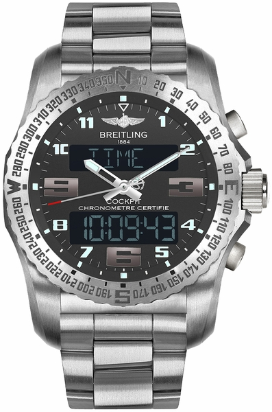 Breitling Cockpit B50 Genuine Men's Watch EB5010B1/M532-176E