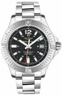 Breitling Colt 41 Automatic Black Dial Men's Watch A1731311/BE90-182A
