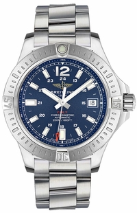 Breitling Colt 41 Automatic Blue Dial Men's Watch A1731311/C934-190A