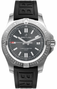 Breitling Chronomat Colt 41 Grey Dial Men's Watch A17313101F1S1