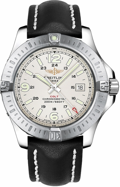 Breitling Colt Quartz 44 Stainless Steel Men's Watch A7438811/G792-435X