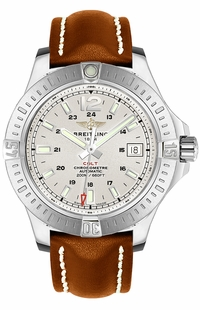 Breitling Colt Automatic Men's Silver Dial Watch A1738811/G791-438X