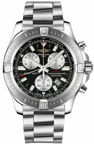 Breitling Colt Chronograph 44mm Steel Men's Watch A73388111B1A1