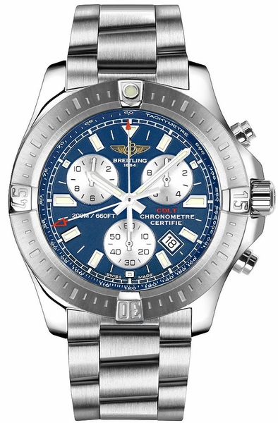 Breitling Colt Chronograph Mariner Blue Dial Men's Watch A73388111C1A1