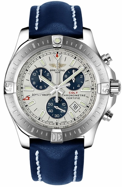 Breitling Colt Chronograph 44mm Steel Men's Watch A7338811/G790-105X
