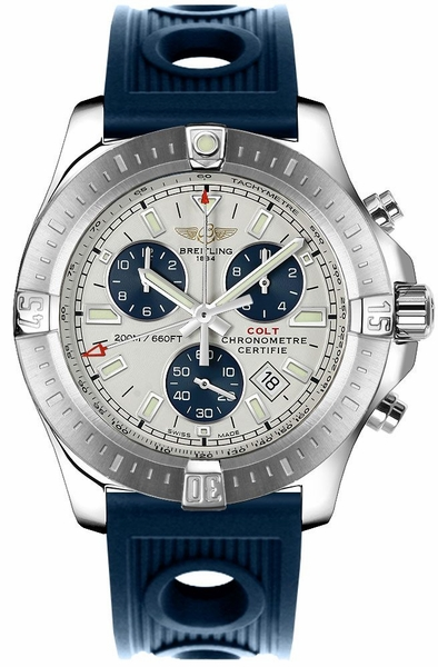 Breitling Colt Chronograph Stainless Steel 44mm Men's Watch A7338811/G790-211S