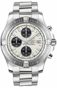 Breitling Colt Chronograph Automatic Silver Dial Men's Sport Watch A13388111G1A1