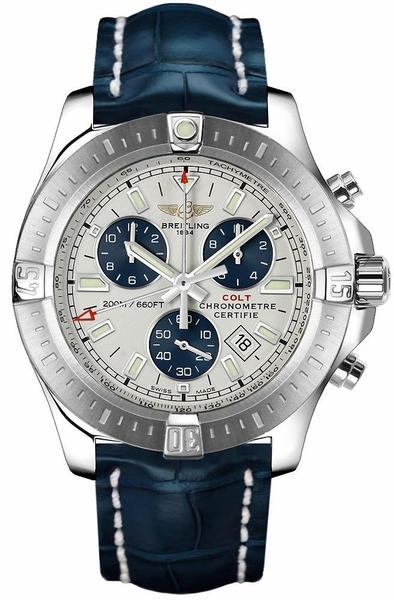 Breitling Colt Chronograph Stratus Silver Dial Men's Watch A7338811/G790-731P