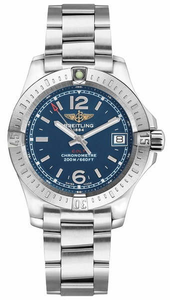 Breitling Colt Lady Blue Dial Women's Watch A7738811/C908-175A