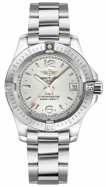 Breitling Colt Lady Silver Dial Women's Watch A77388111G1A1