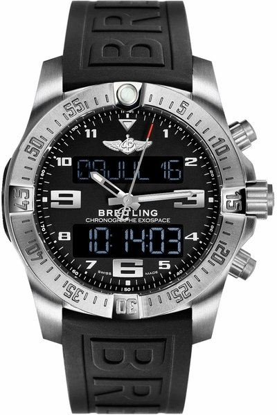 Breitling Exospace B55 Titanium Men's Watch EB5510H1/BE79-155S