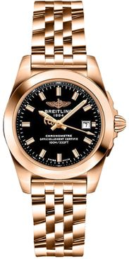 Breitling Galactic 18k Rose Gold Women's Watch H7234812/BF32-791H