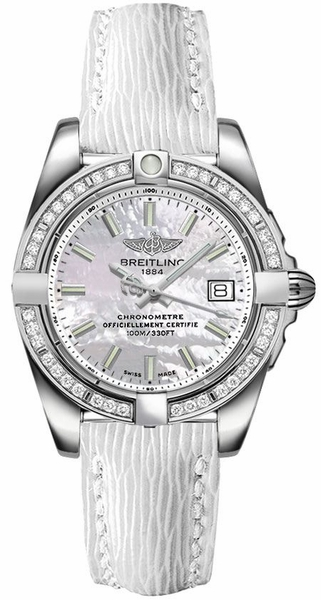 Breitling Galactic 32 Women's Discount Watch A71356LA/A787-235X