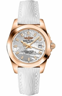 Breitling Galactic 32 Mother of Pearl Women's Watch H7133012/A802-235X