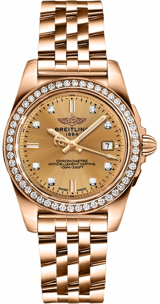 Breitling Galactic 32 Sleek Edition H7133053/H550-792H