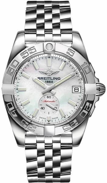 Breitling Galactic 36 Automatic Mother of Pearl Women's Watch A3733012/A788-376A