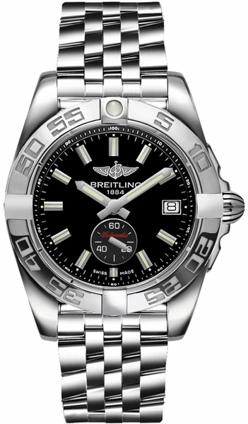 Breitling Galactic 36 Automatic Black Dial Women's Watch A37330121B1A1