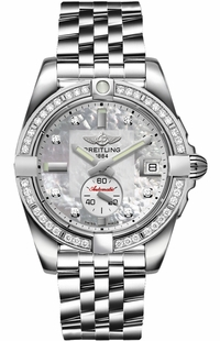 Breitling Galactic 36 Automatic Diamond Women's Watch A37330531A1A1