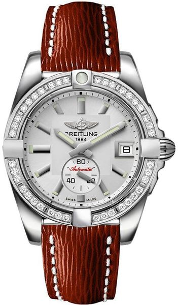 Breitling Galactic 36 Silver Dial Women's Watch A3733053/G706-216X