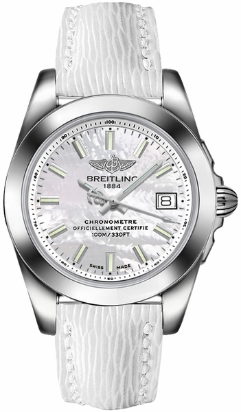Breitling Galactic 36 Mother of Pearl Dial Women's Watch W7433012/A779-236X