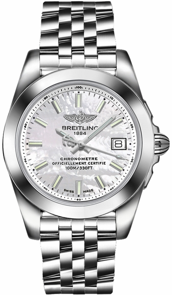 Breitling Galactic 36 Women's Watch W7433012/A779-376A