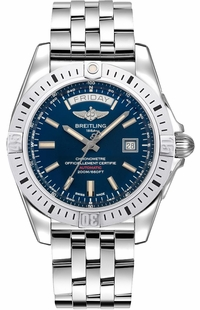 Breitling Galactic 44 Blue Dial Men's Watch A45320B9/C902-375A