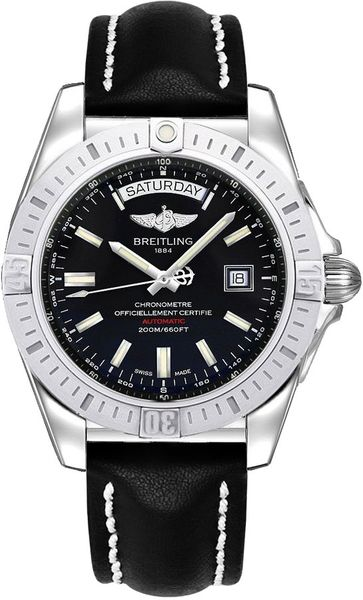 Breitling Galactic 44 Day Date Men's Watch A453201A/BG10-435X