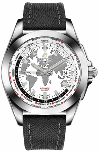 Breitling Galactic Unitime 44 Steel Men's Watch WB3510U0/A777-109W