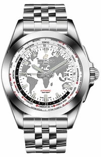 Breitling Galactic Unitime Men's Watch WB3510U0/A777-375A