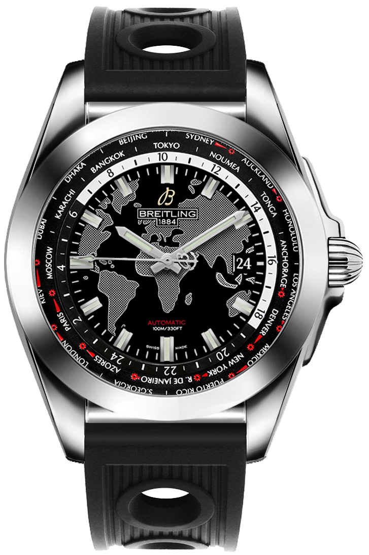 Breitling Galactic Unitime Lowest Price Men's Watch WB3510U4/BD94-200S