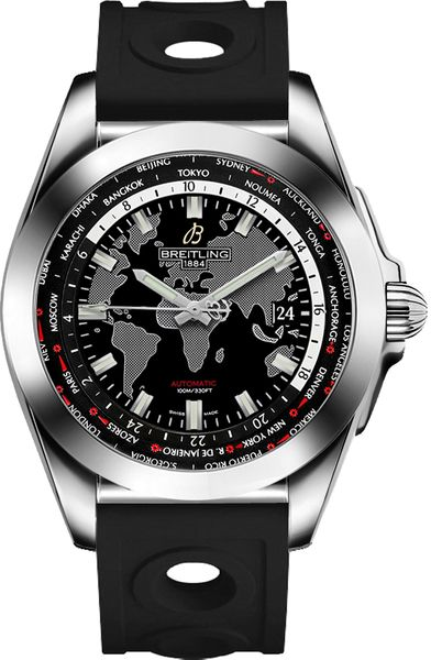 Breitling Galactic Unitime World Time Men's Watch WB3510U4/BD94-227S