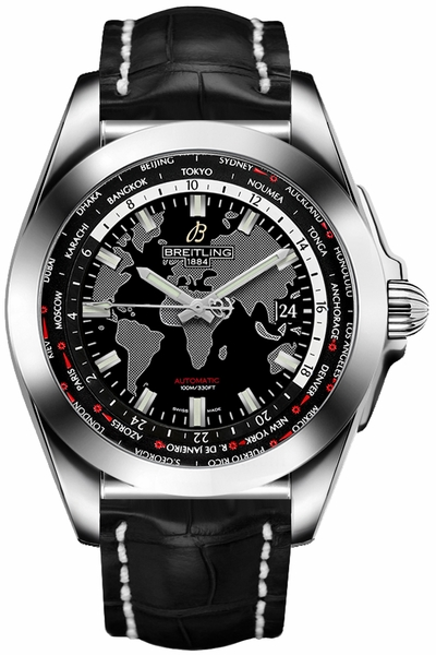 Breitling Galactic Unitime Men's Luxury Watch Sale WB3510U4/BD94-743P