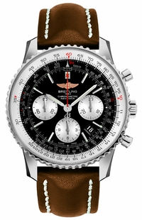 Breitling Navitimer 01 43 Black Dial Men's Watch AB012012/BB01-437X