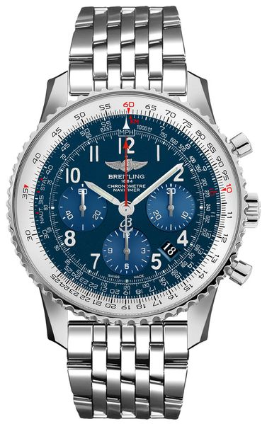 Breitling Navitimer 01 43 Chronograph Limited Edition Men's Watch AB0121C4/C920-447A
