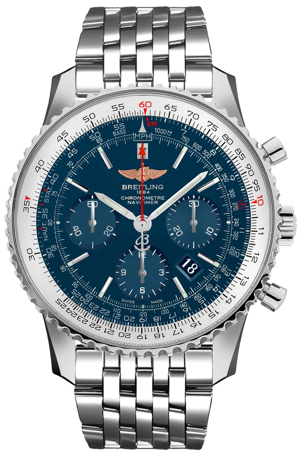 Breitling Navitimer 01 46 Chronograph Men's Watch AB012721/C889-453A